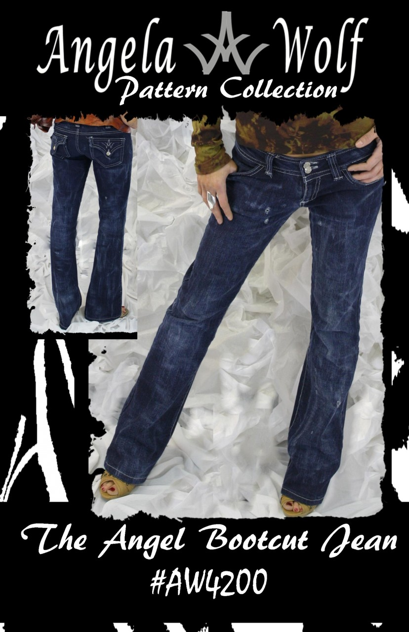 Angela Wolf The Angel Bootcut Jean 4200