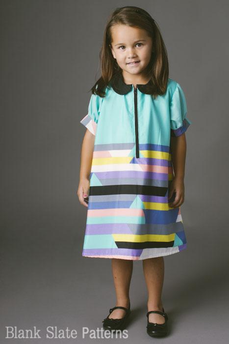 Blank Slate A-Line A La Mode Dress Downloadable Pattern A-Line A La Mode Dress