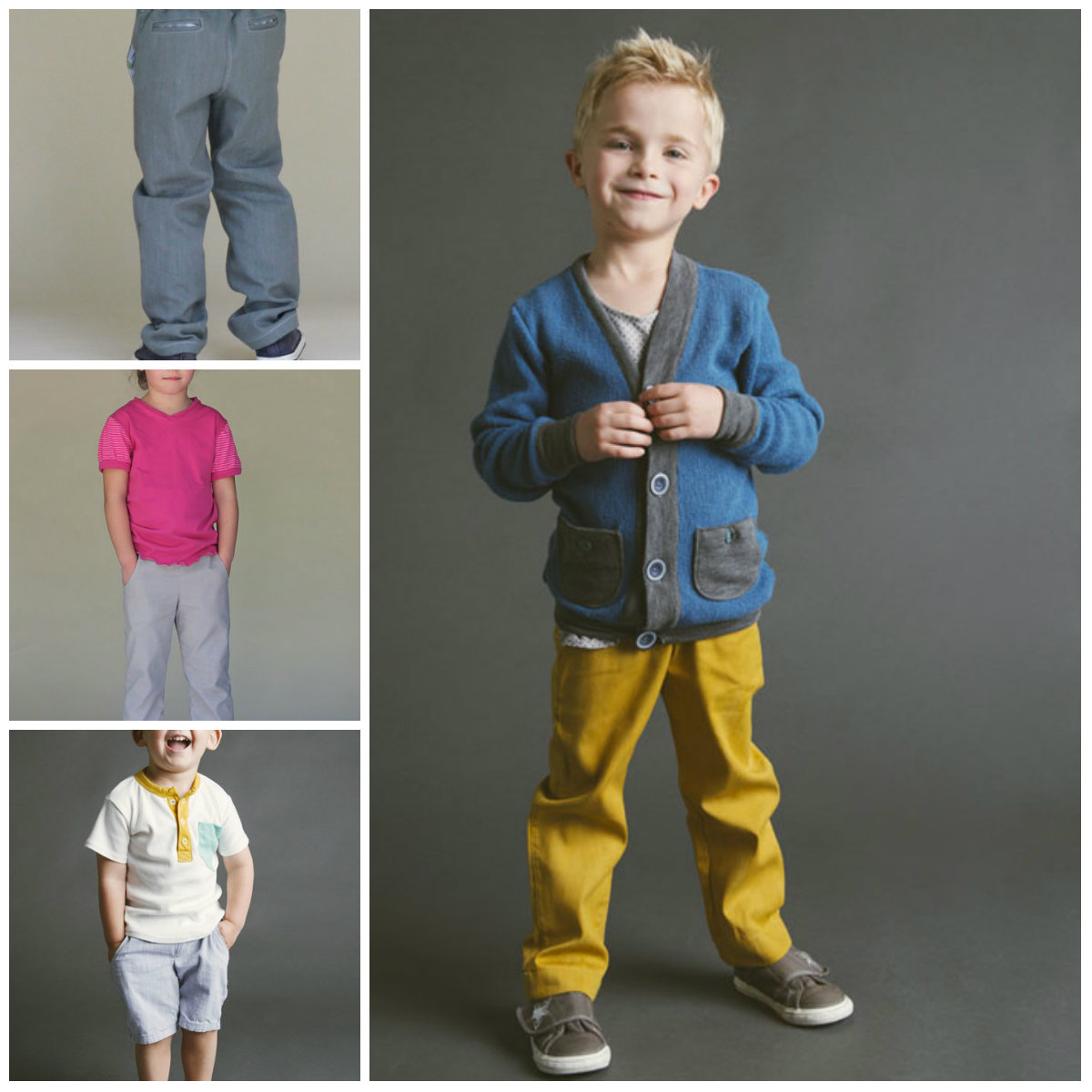 Blank Slate Child's Shorts and Pants Downloadable Pattern Clean Slate Pants/Shorts/Capris