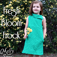 Blank Slate Fresh Bloom Frock Digital Pattern