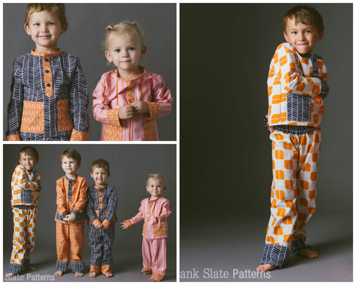 Blank Slate Pocket PJs Downloadable Pattern Pocket PJs