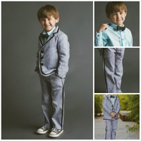 Blank Slate Trendy Tuxedo Shirt & Pants Digital Pattern