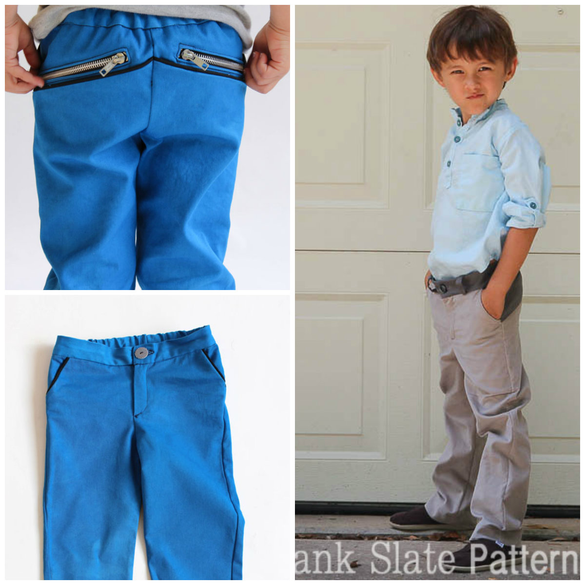 Blank Slate W Pants Downloadable Pattern W Pants
