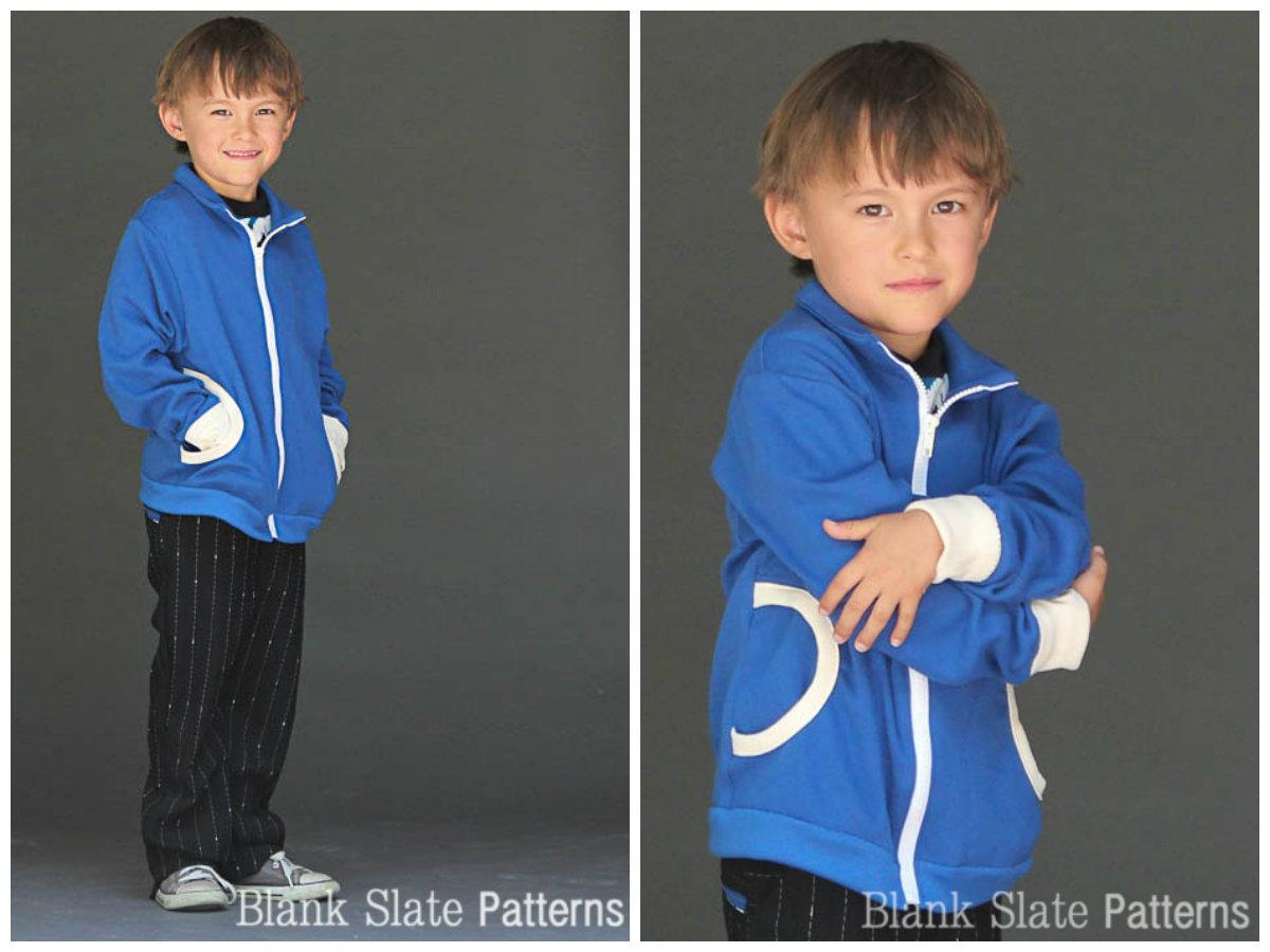 Blank Slate Zippy Jacket Downloadable Pattern Zippy Jacket