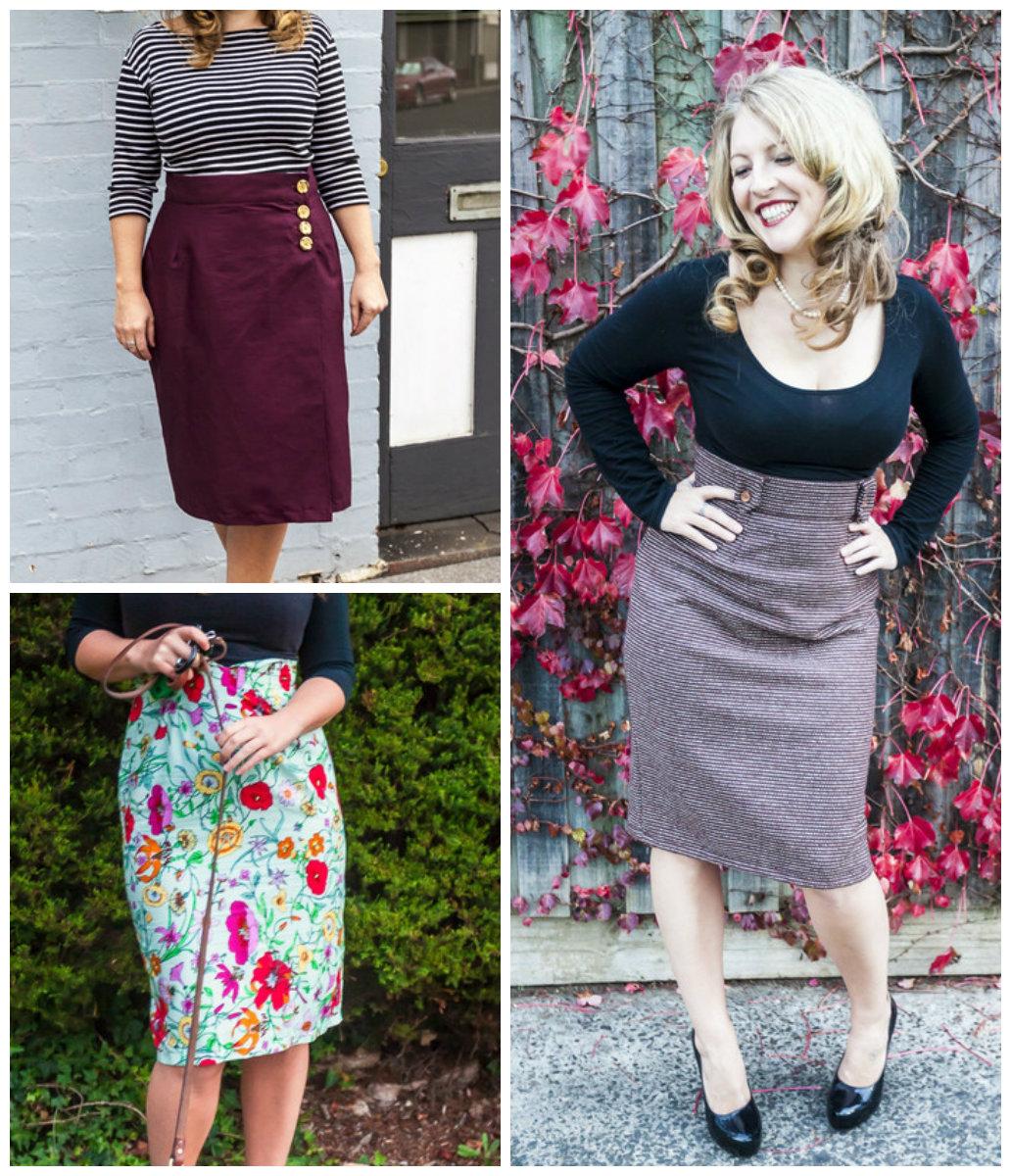 Bluegingerdoll The Betsy Pencil Skirt  Betsy