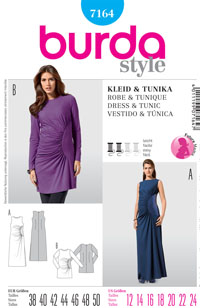 Burda 7164 Pattern