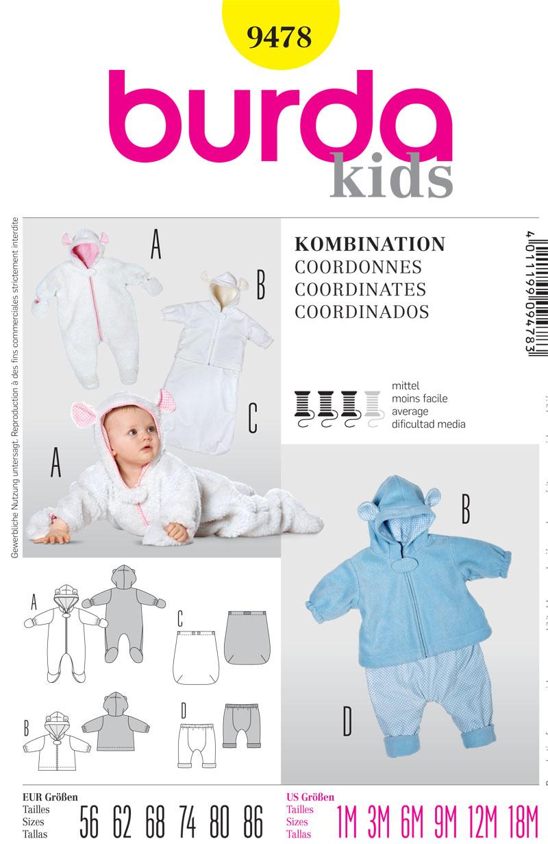 Burda Baby Coordinates 9478