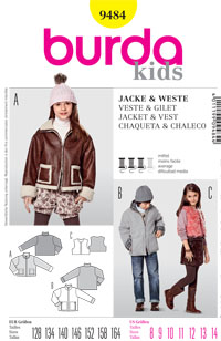 Burda 9484 Pattern