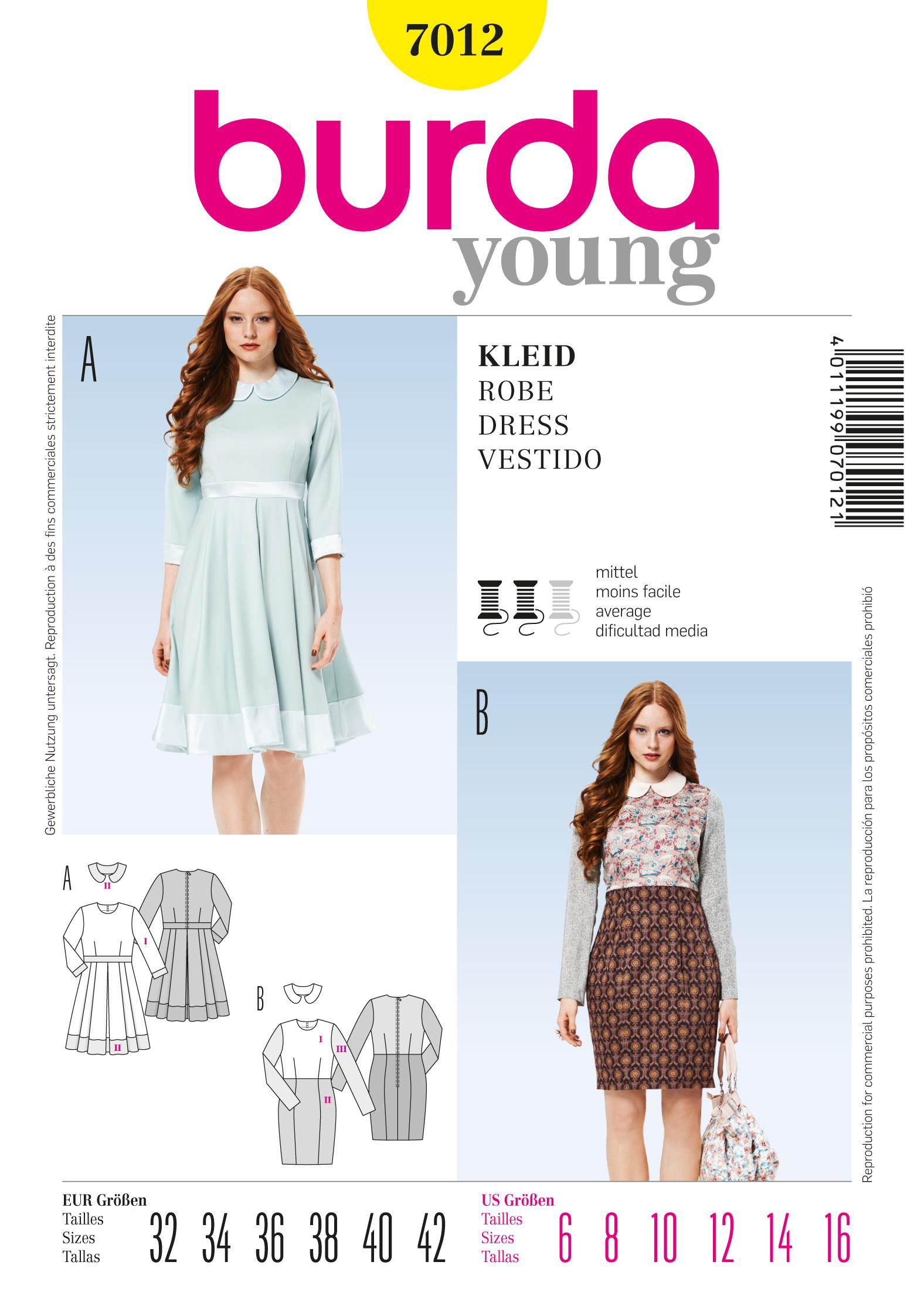 Burda Dress 7012
