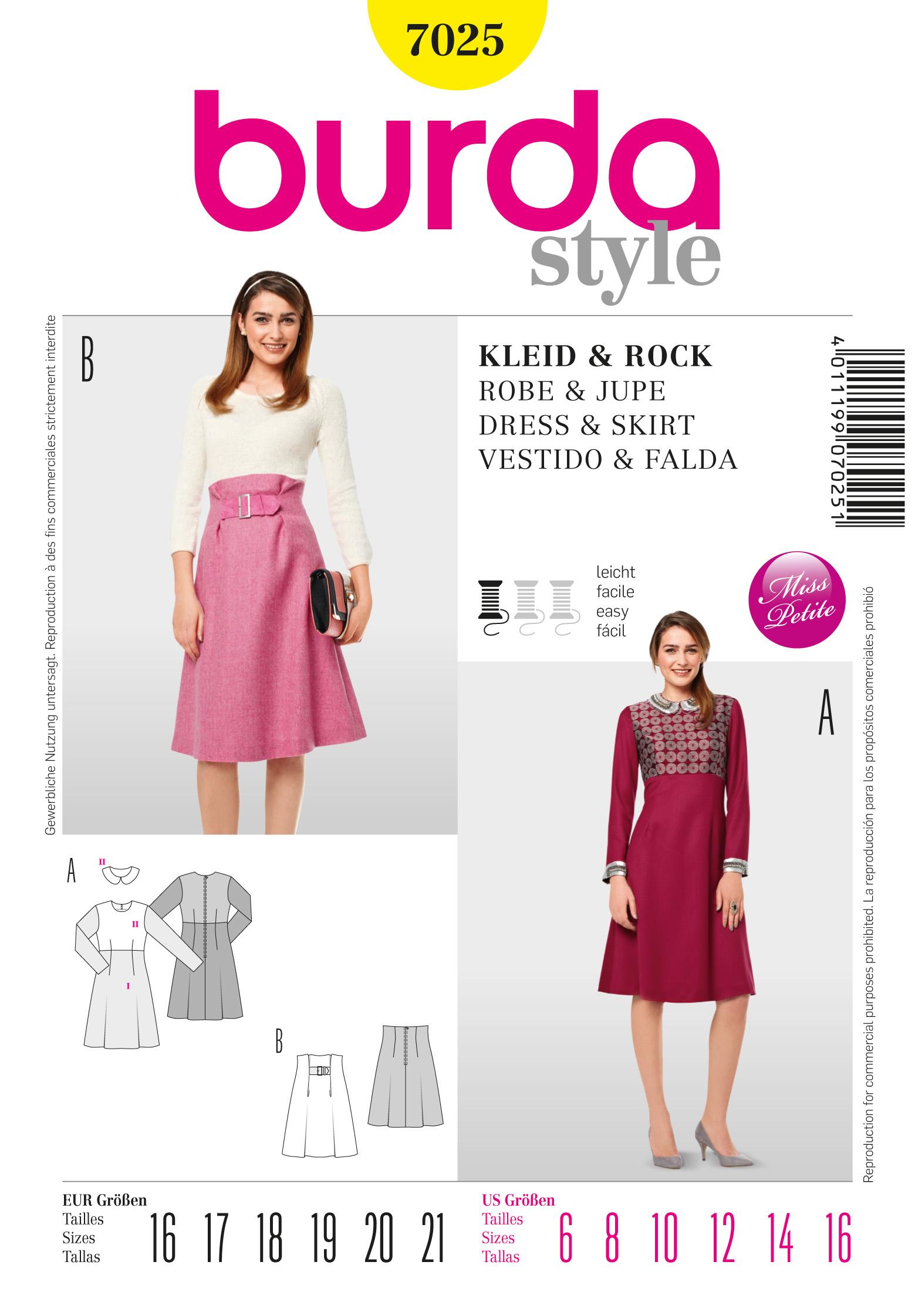 Burda Dress 7025