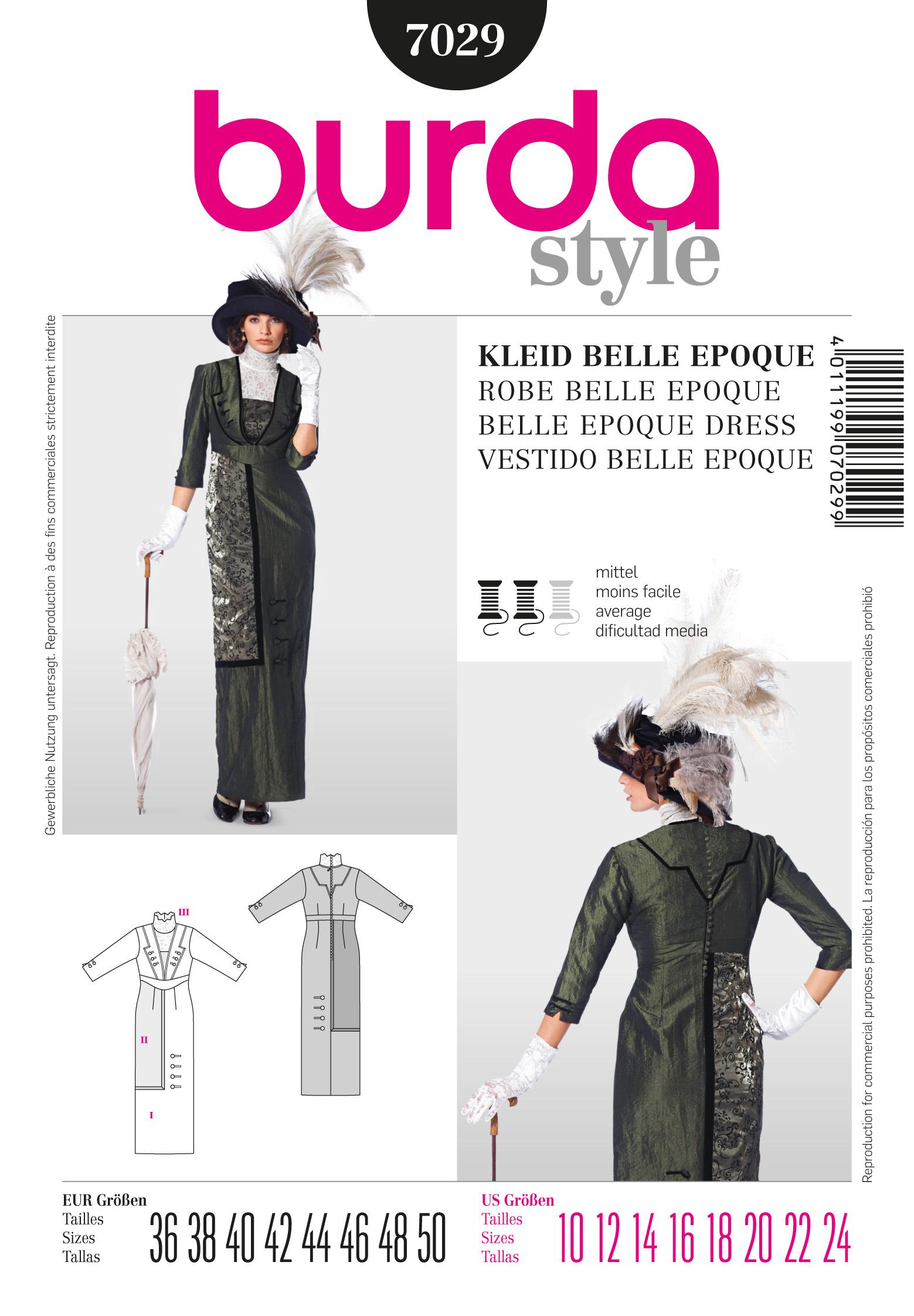 Burda Dress 7029