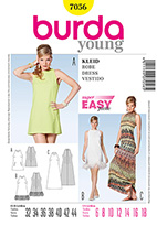 Burda 7056 Pattern