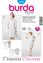 Burda 7060 Pattern