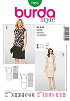Burda 7085 Pattern