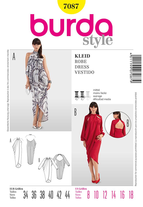 Burda Misses Dress 7087