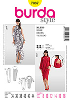 Burda 7087 Pattern