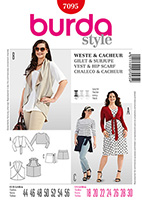 Burda 7095 Pattern
