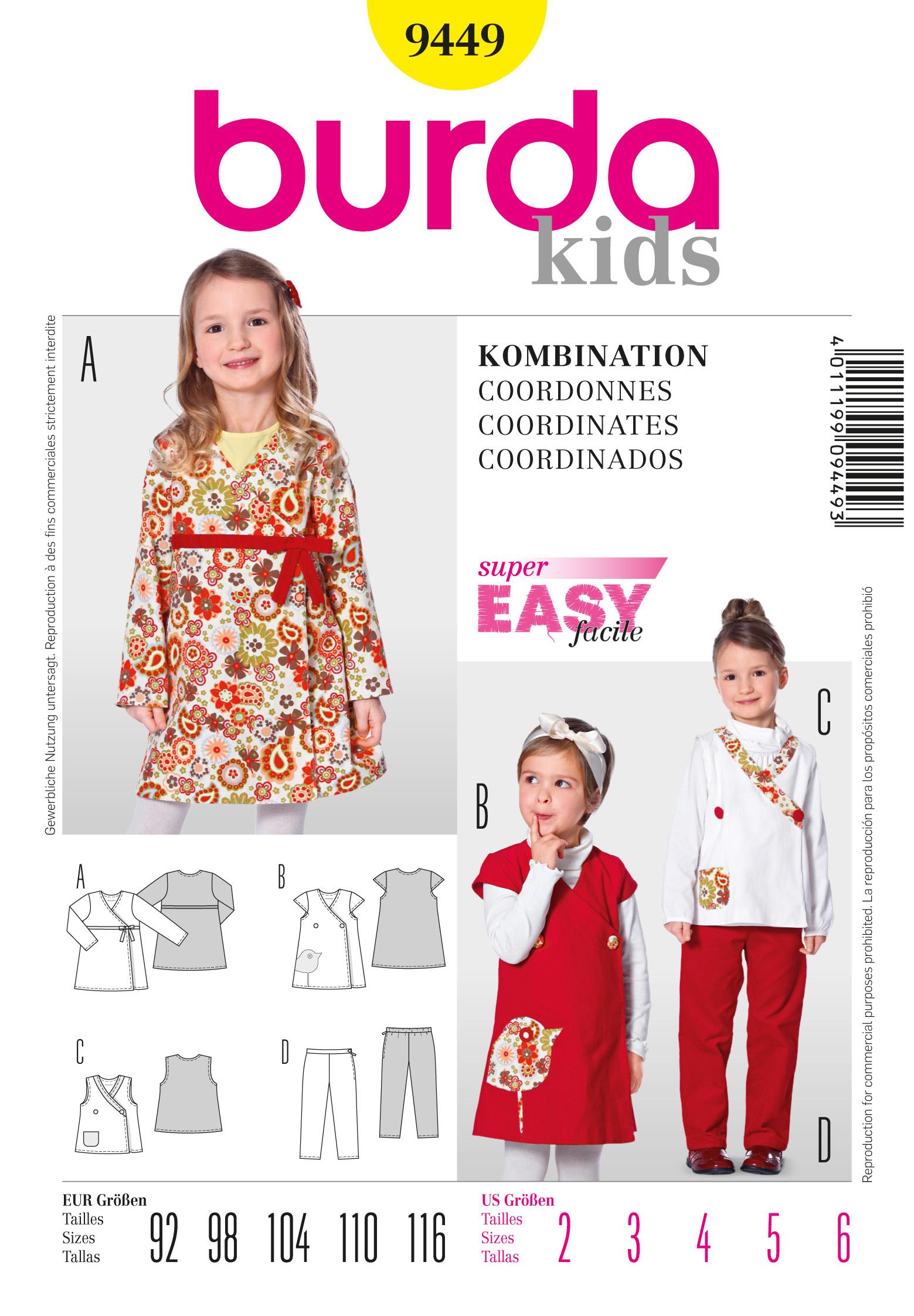 Burda Dress 9449