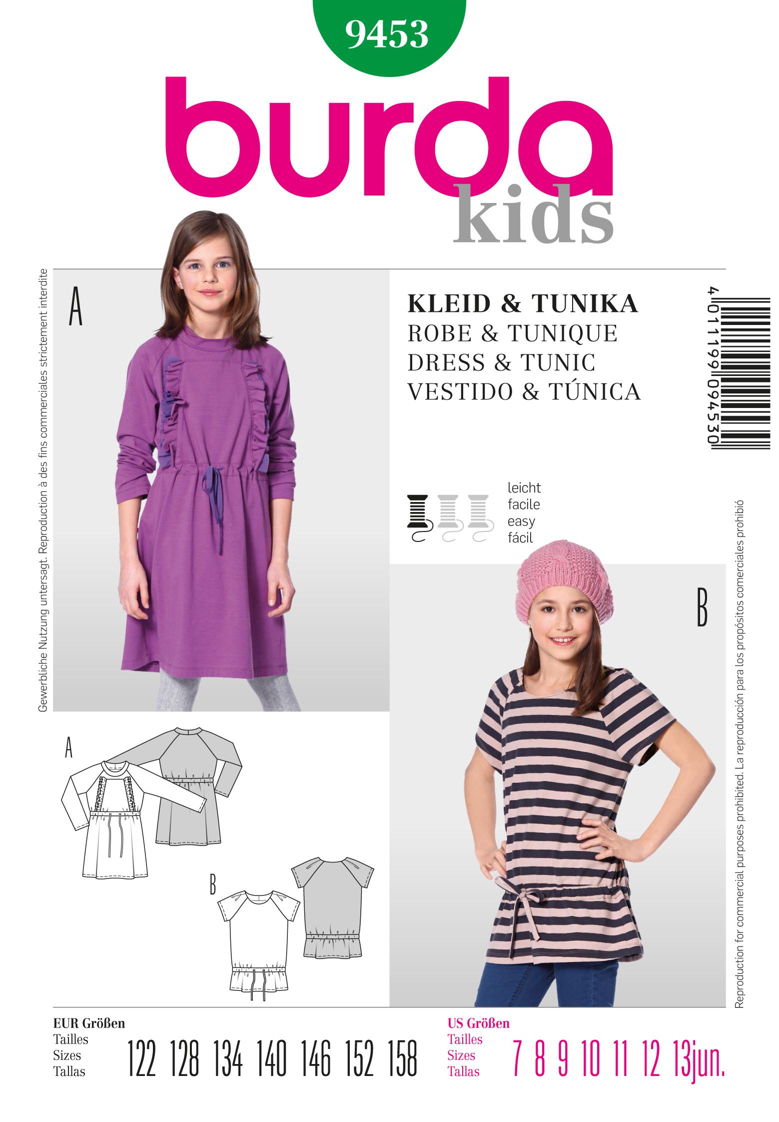 Burda Dress  9453