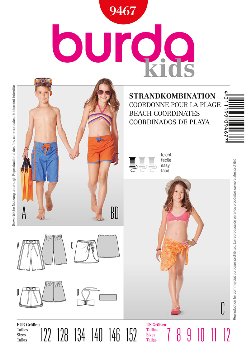 Burda Children's Beach Coordinates 9467