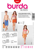 Burda 9467 Pattern