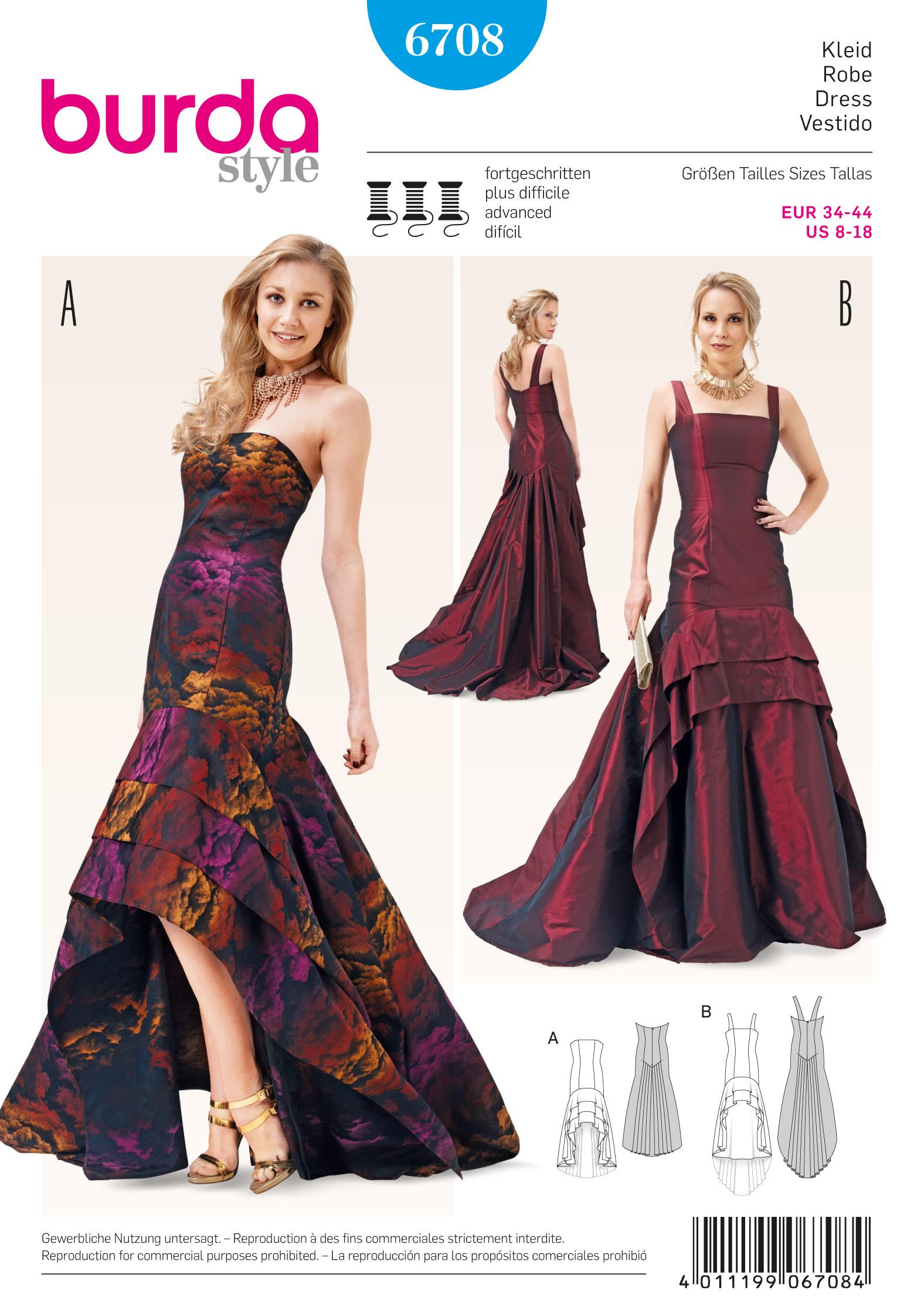 Evening dress sewing patterns burda flower girl dresses evening dress sewing patterns burda 80 jeuxipadfo Choice Image