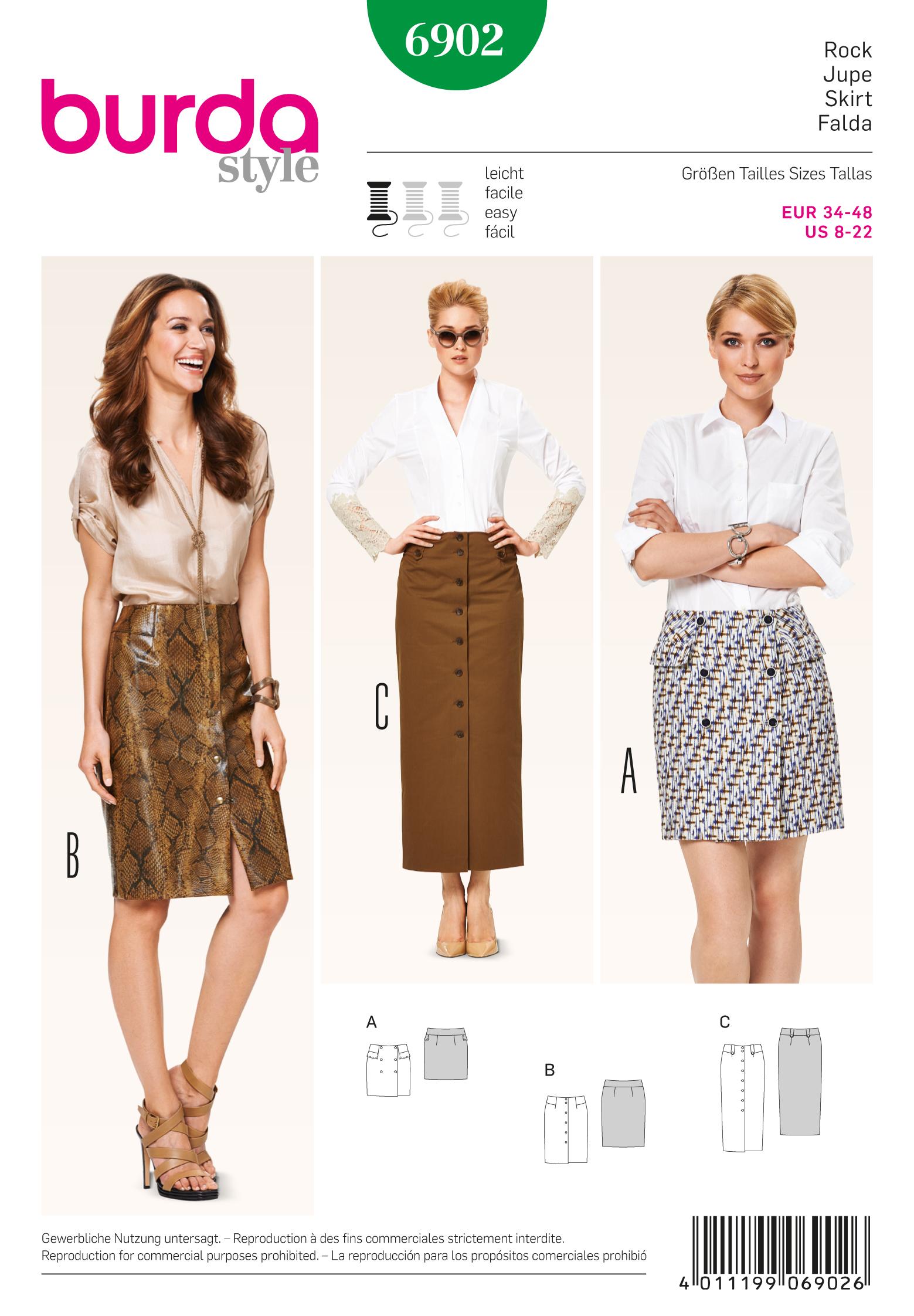Burda Skirts 6902