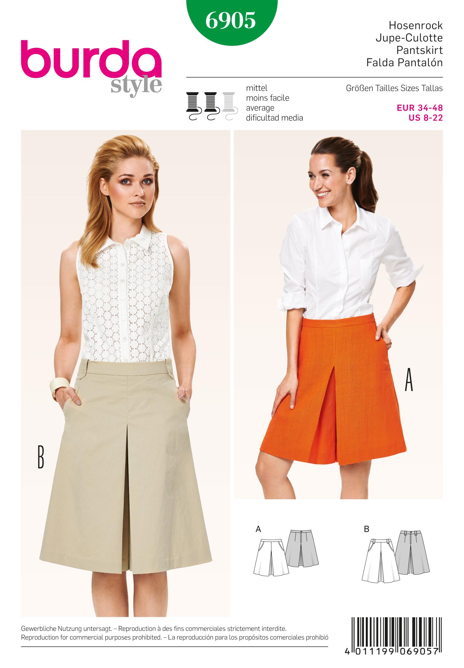 Burda Skirts 6905