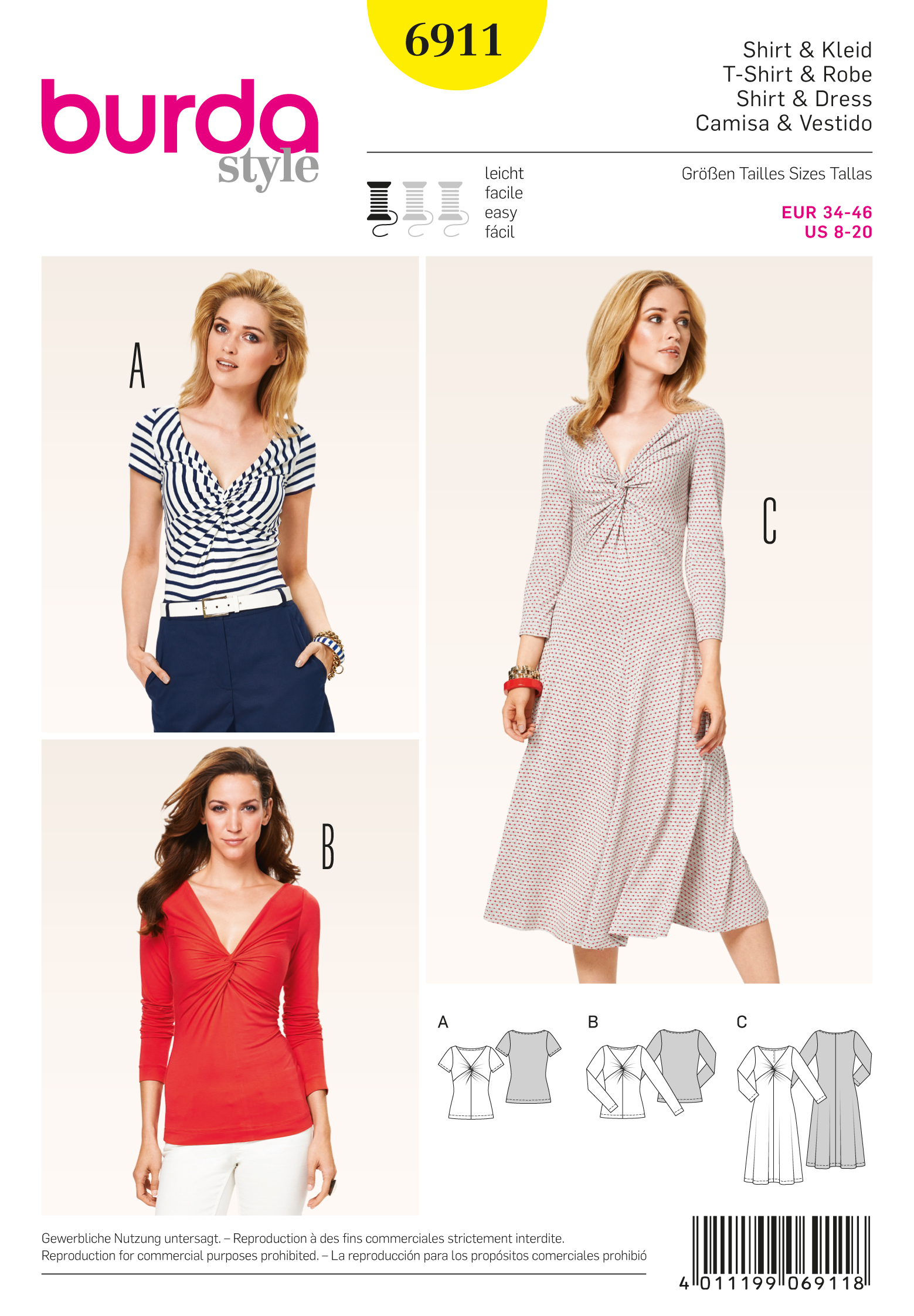 Burda Dresses 6911