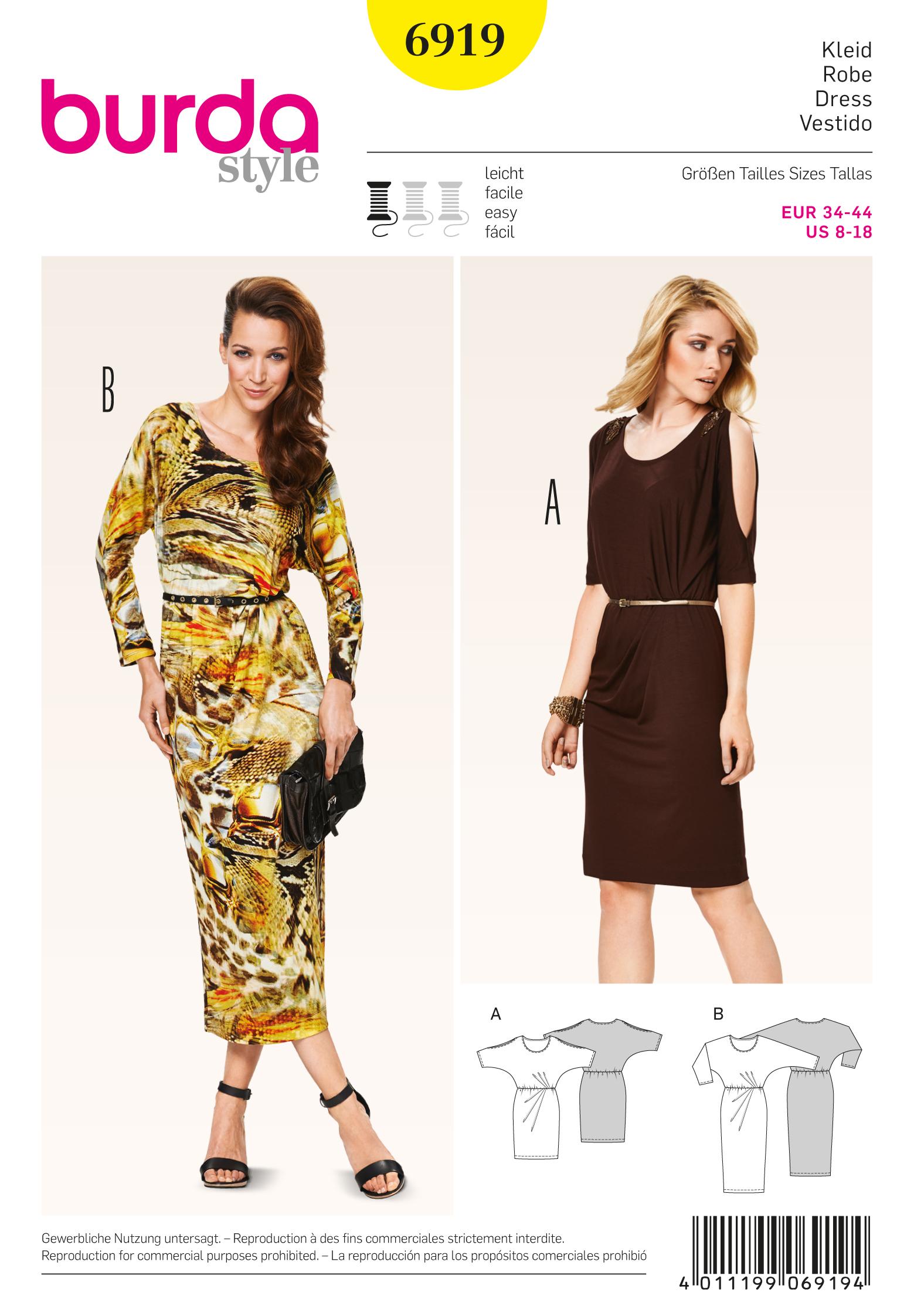 Burda Dresses 6919