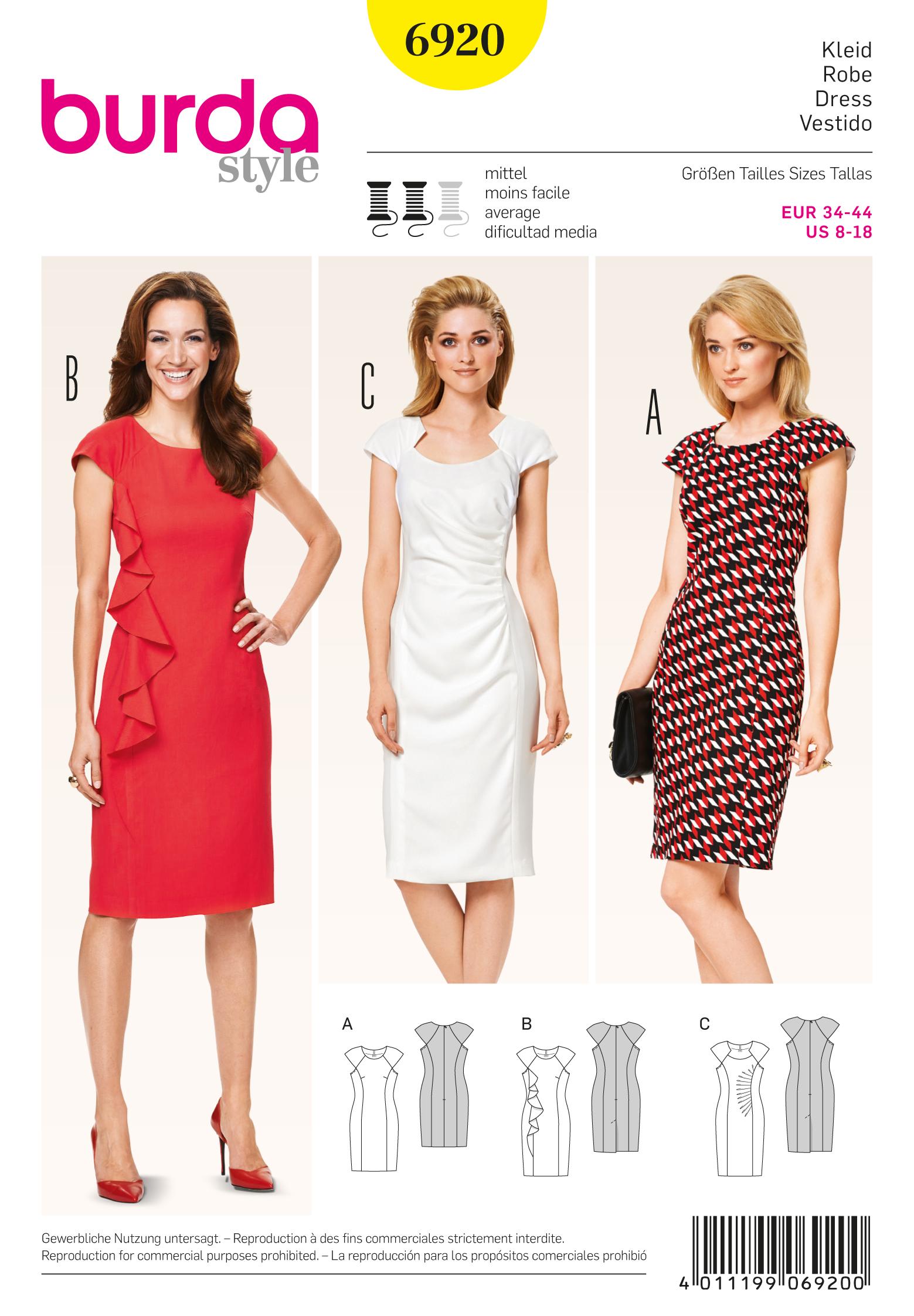 Burda Dresses 6920