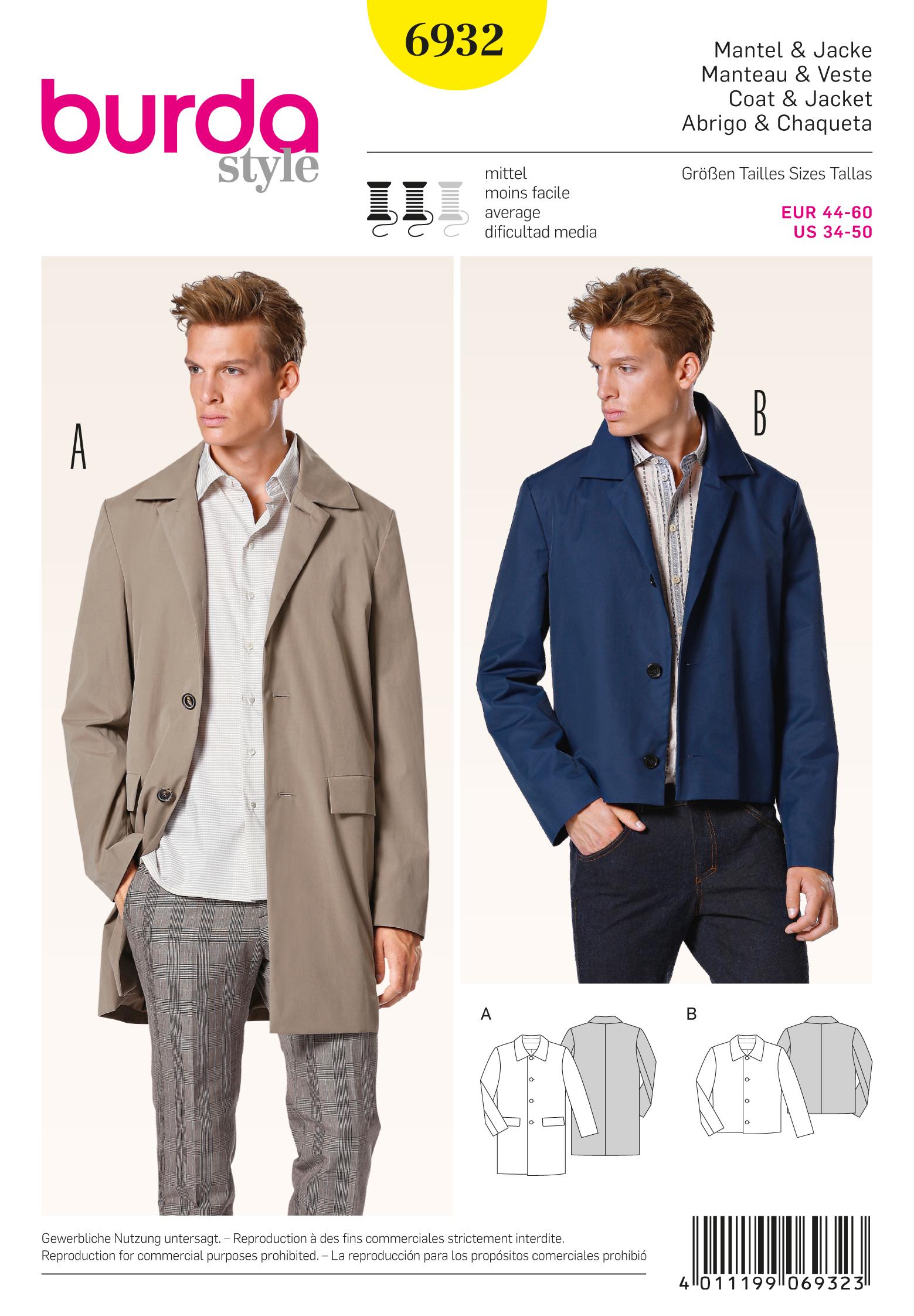 Burda Menswear 6932