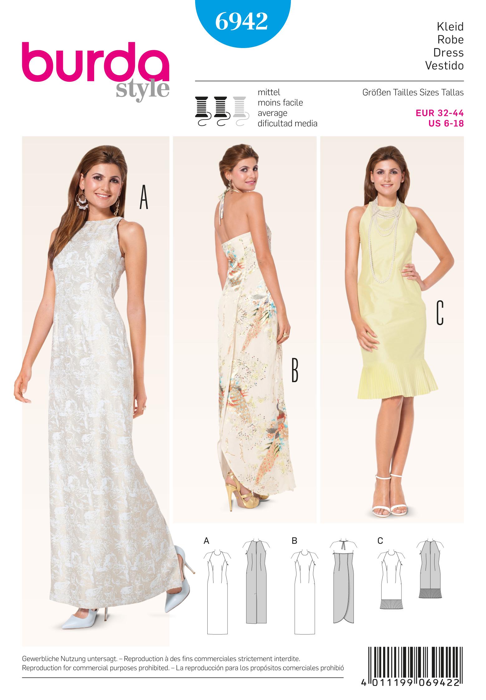 Burda Evening & Bridal Wear 6942