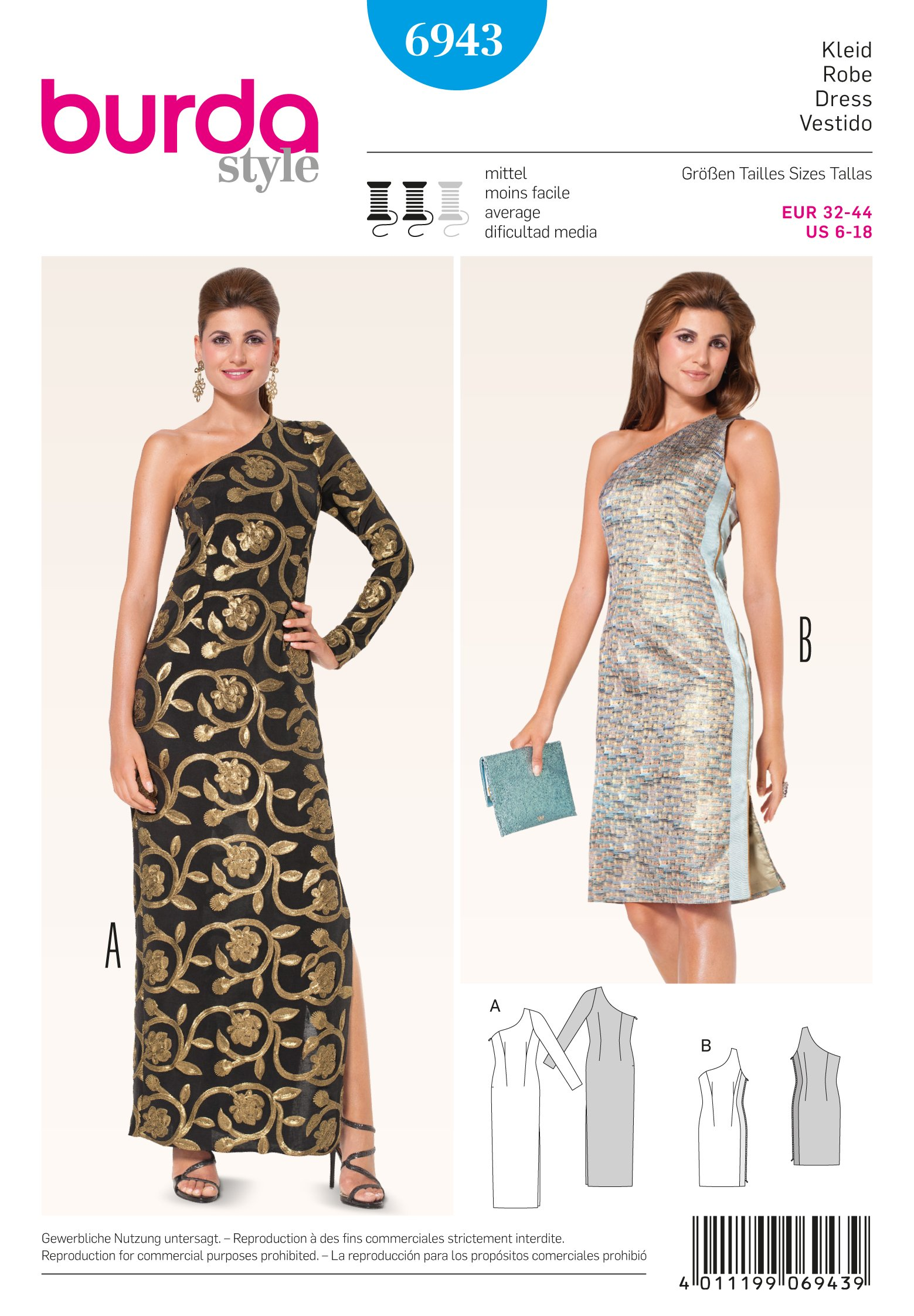 Burda Evening & Bridal Wear 6943