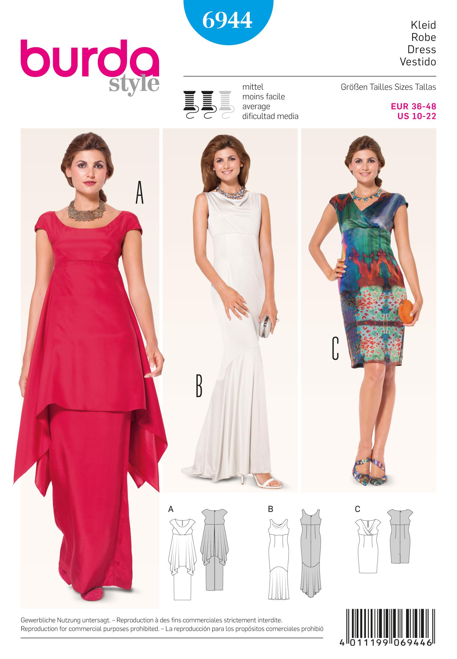 Burda Evening & Bridal Wear 6944