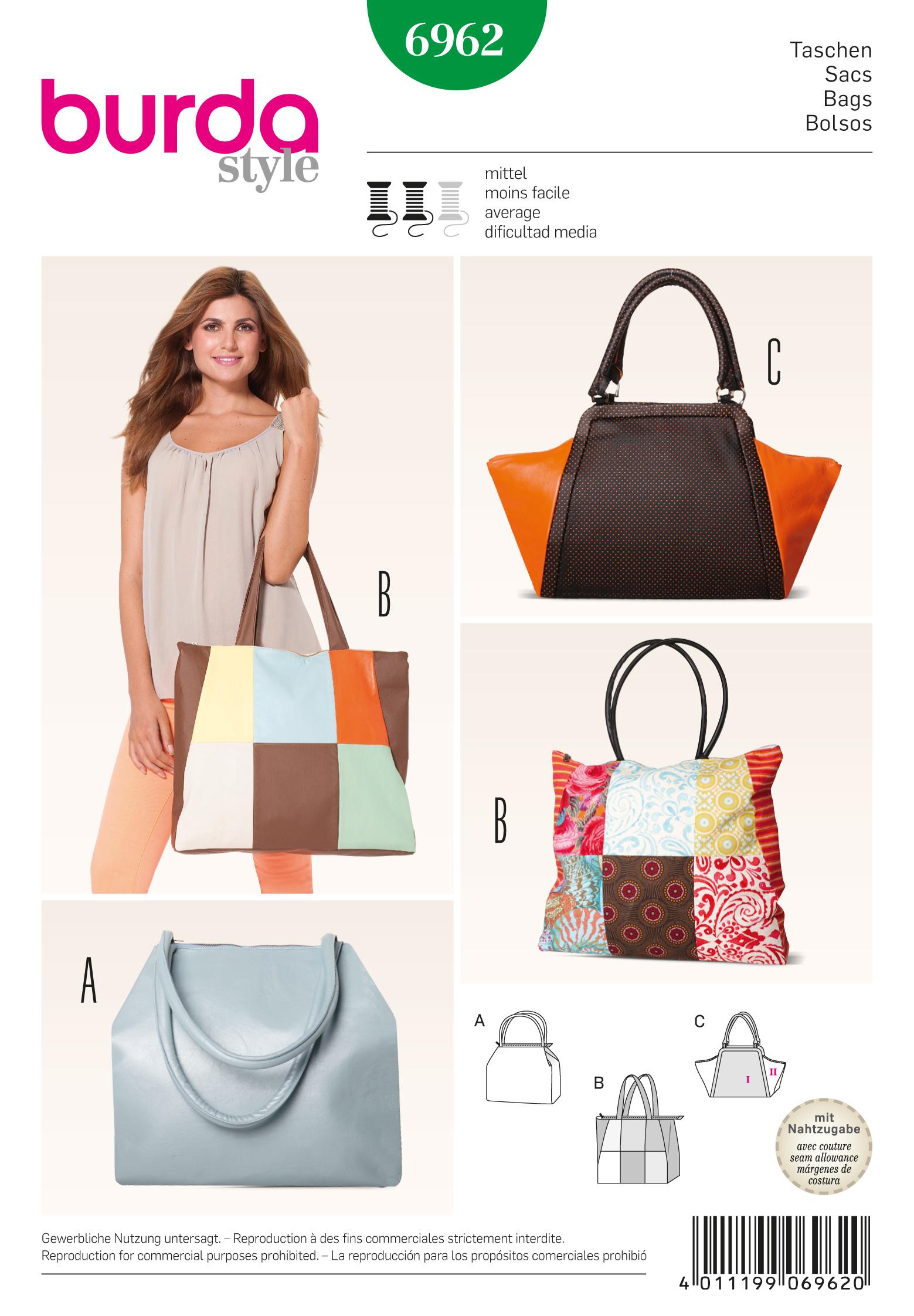 Burda Bags 6962