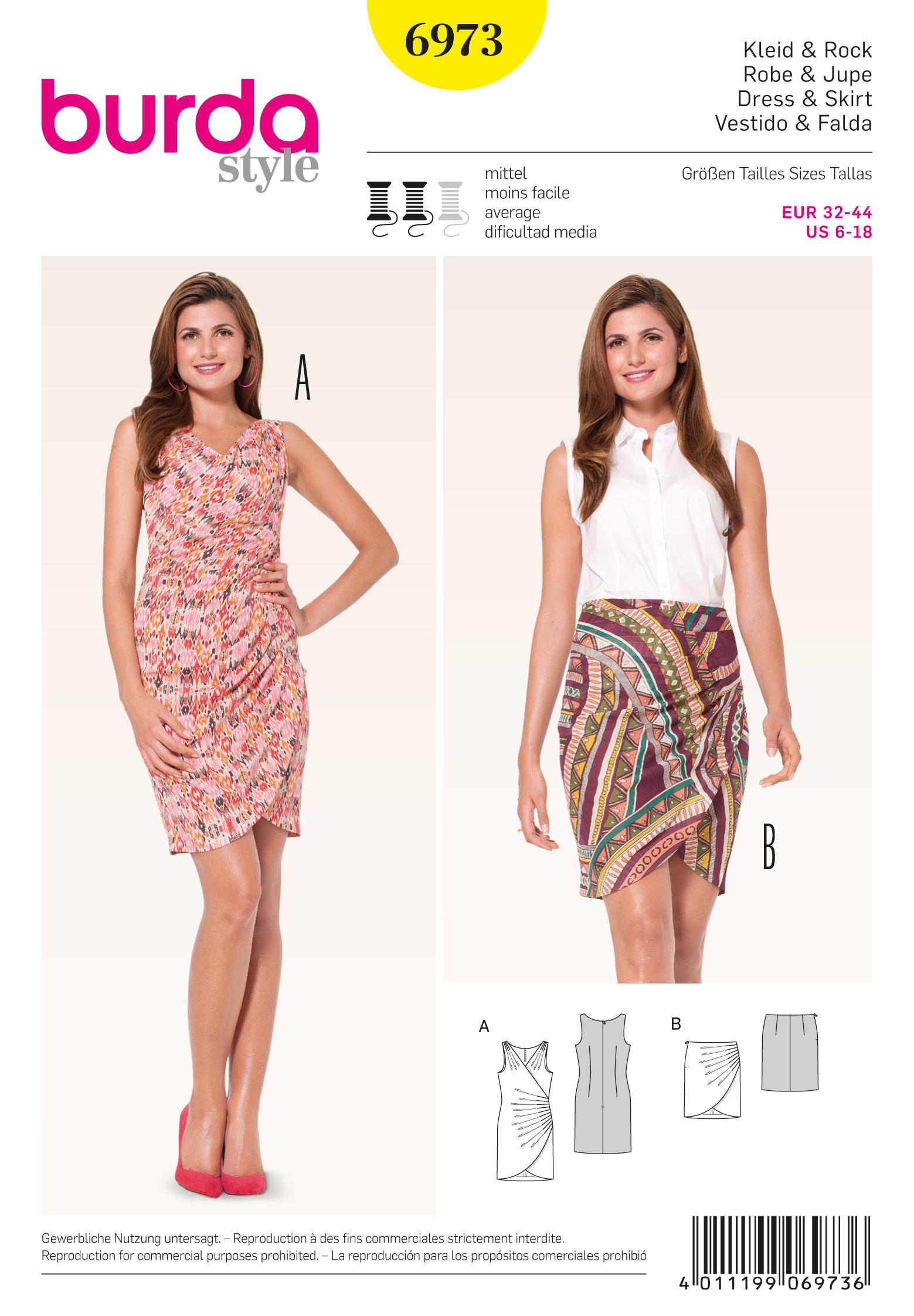 Burda Dresses 6973
