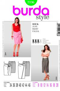 Burda 7196 Pattern