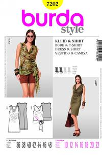 Burda 7202 Pattern
