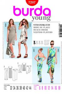 Burda 7207 Pattern