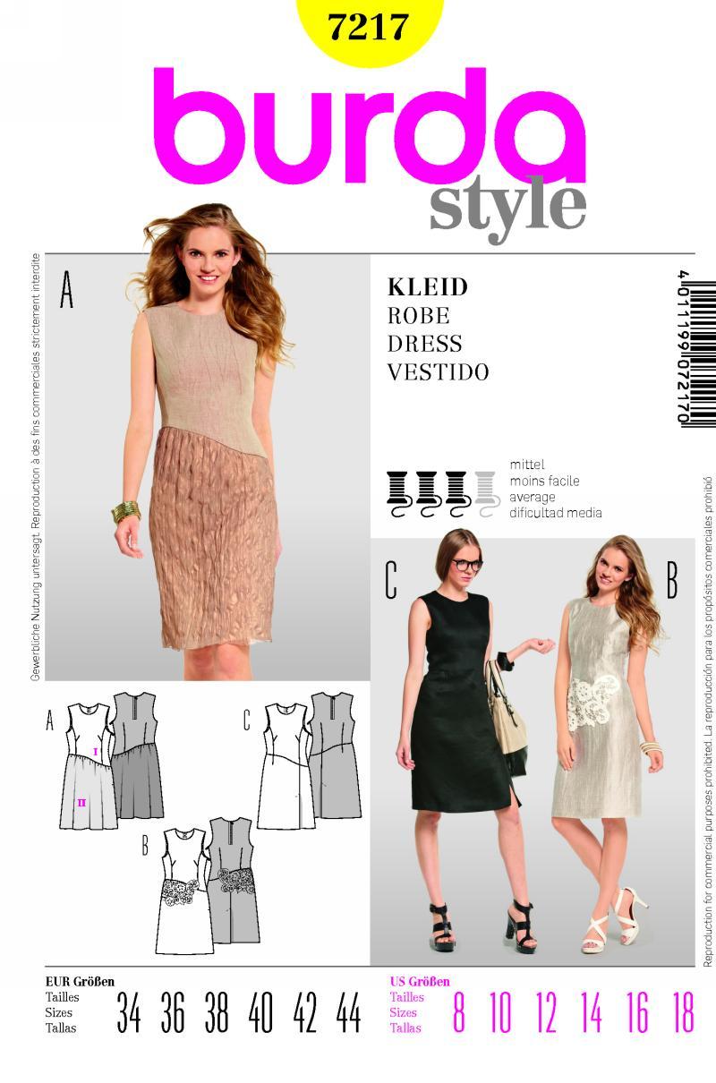 Burda dress 7217