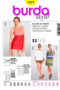 Burda 7221 Pattern