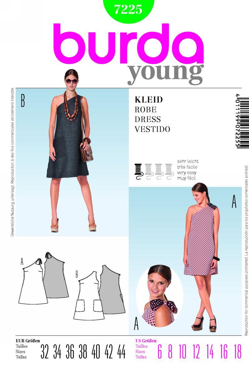 Burda dress 7225