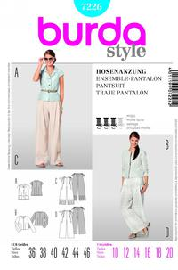 Burda 7226 Pattern