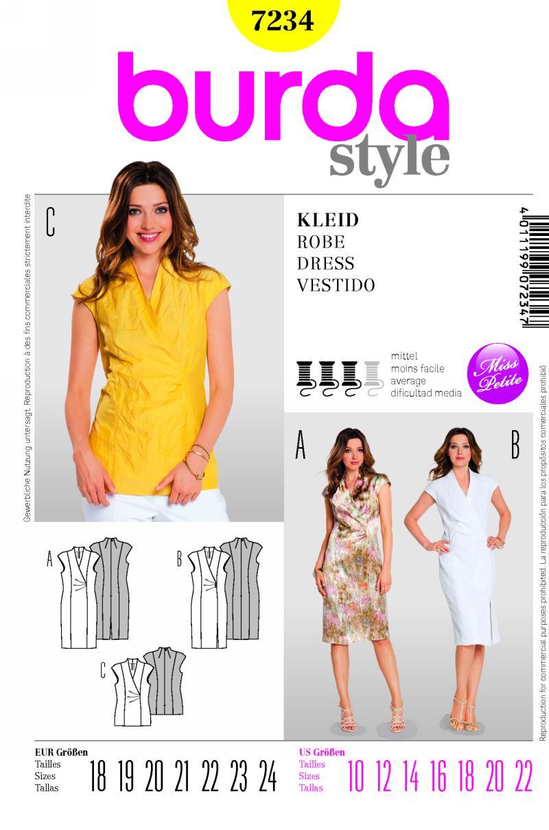 Burda Dress 7234