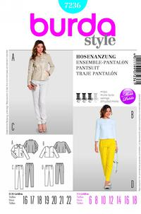 Burda 7236 Pattern