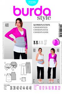 Burda 7239 Pattern
