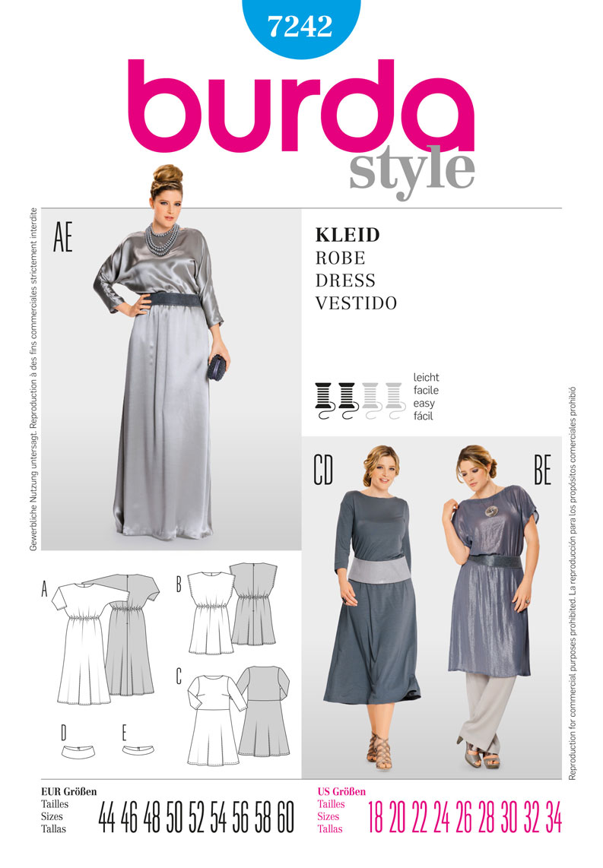Burda dress 7242