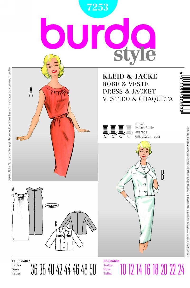 Burda dress 7253