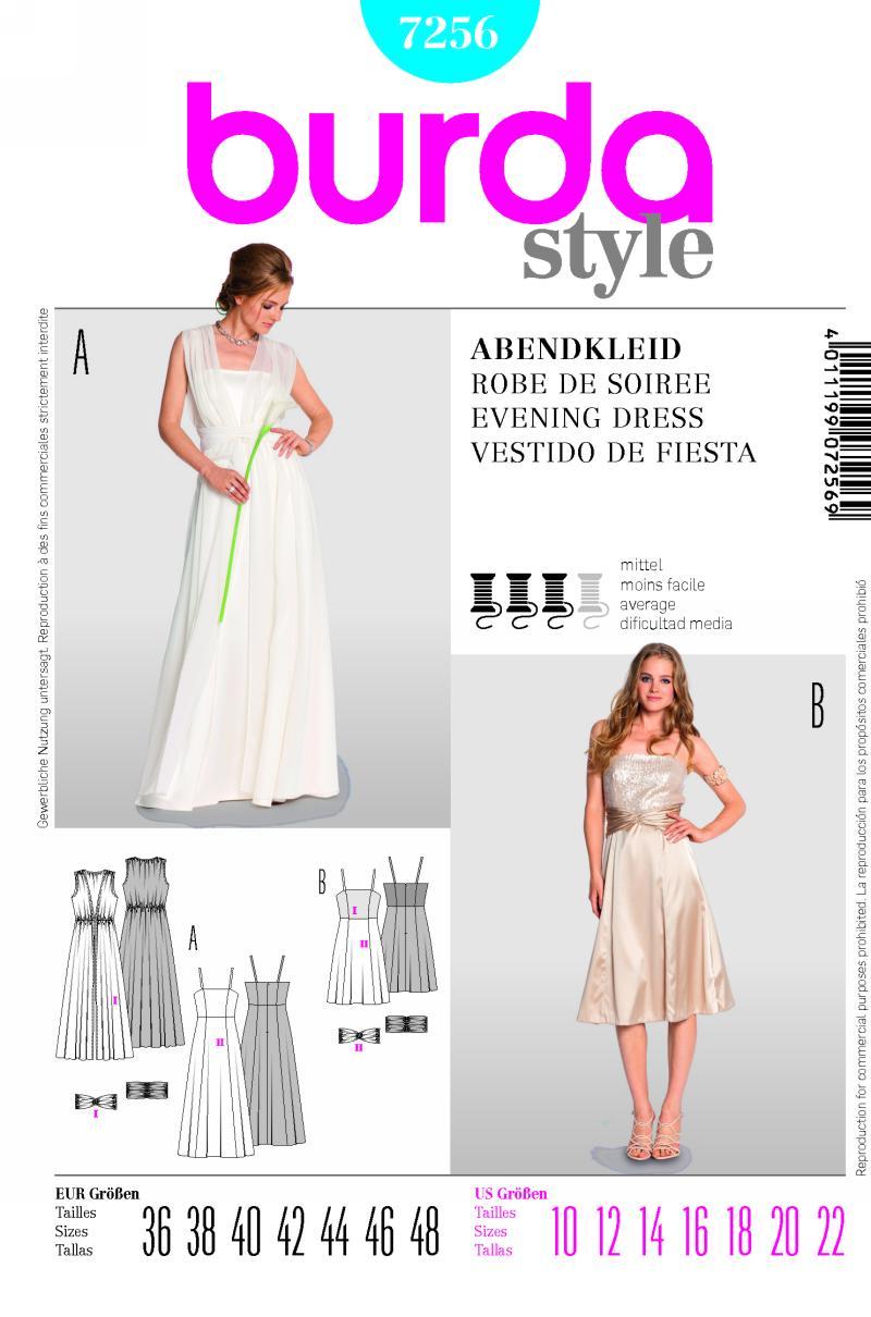 Burda dress 7256